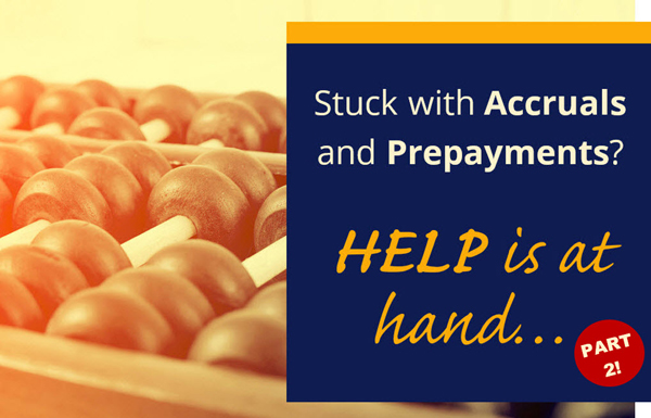 Accruals and Prepayments BLOG Featured Image