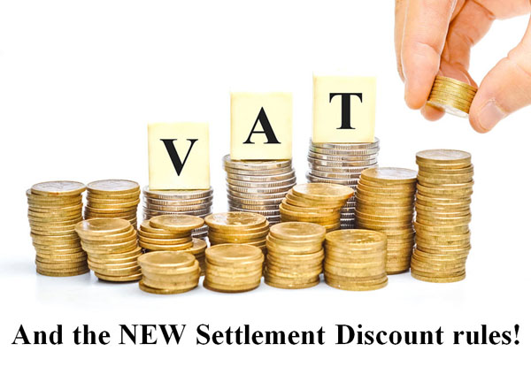 VAT and the NEW settlement discount rules