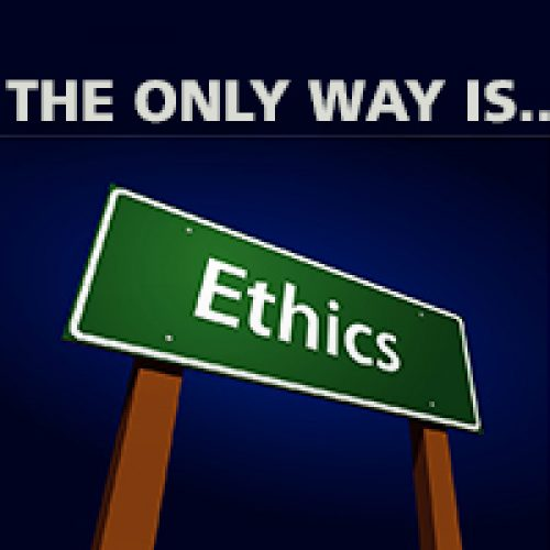 BLOG The only way is Ethics