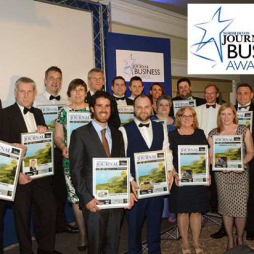 Matt Johns at the North Devon Journal Business Awards 2016